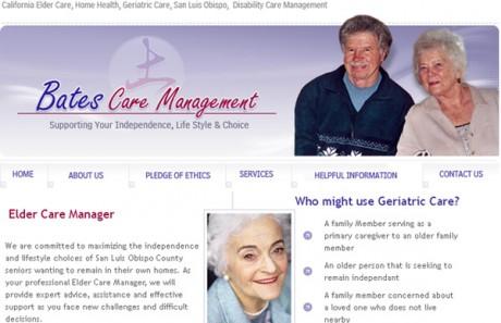 Bates Care Management Site Redesign