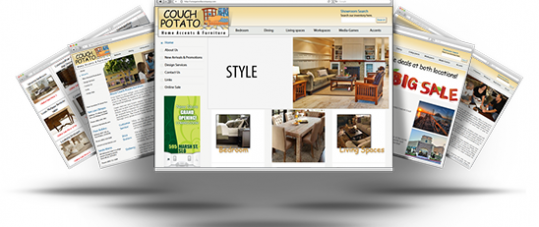 Couch Potato Furniture Site & CMS