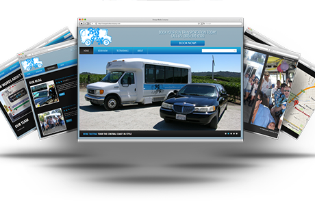 New Web Design For The Bus Of Fun