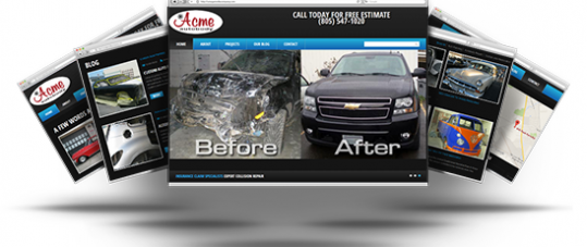 Best Web Design for Acme Autobody