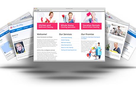 Responsive Website Design for QFAD