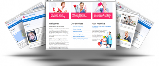 Responsive Website Design for QFAD