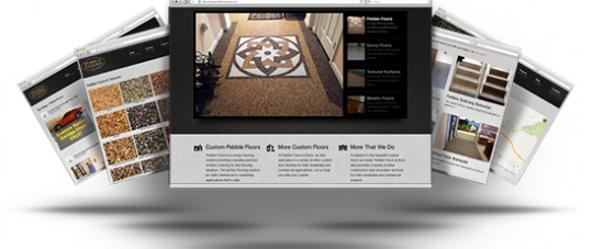 Pebble Floors Website Redesign