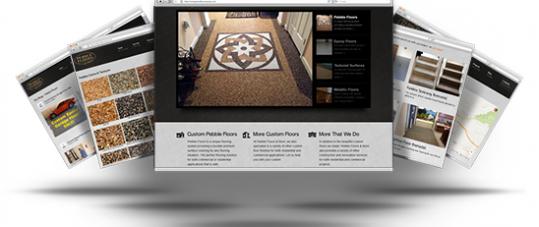 Pebble Floors Website Redesign