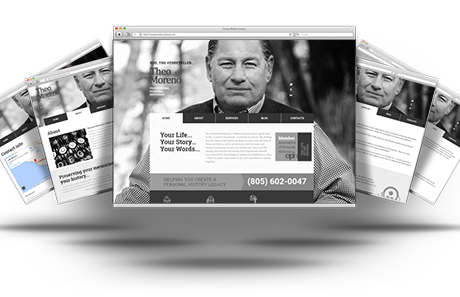 Responsive Website Helps YouTheStoryteller