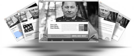 Responsive Website Helps YouTheStoryteller