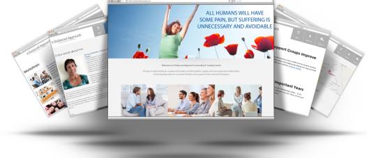 New Website For A Balanced Approach